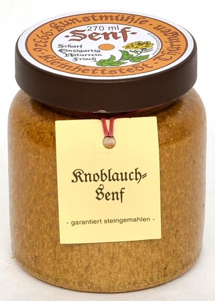 Kleinhettstedt Knoblauch-Senf 270ml