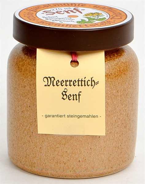 Kleinhettstedt Meerrettich-Senf 270ml
