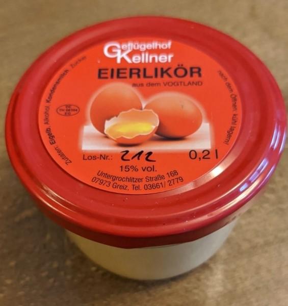 Geflügelhof Kellner Eierlikör zum Löffeln 0,2l