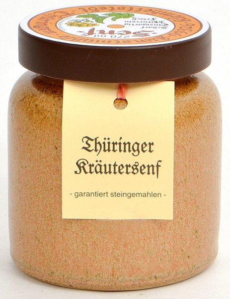 Kleinhettstedt Thür. Kräuter-Senf 270 ml