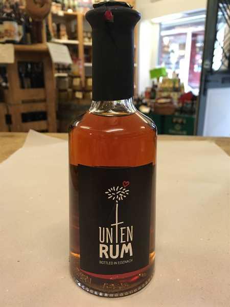 Unten Rum - Classic Black 0,25l