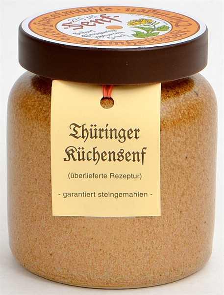 Kleinhettstedt Thür. Küchen-Senf 270ml