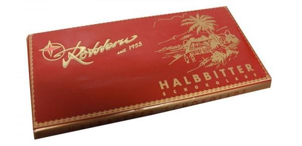 Rotstern Halbbitter Tafel 100g
