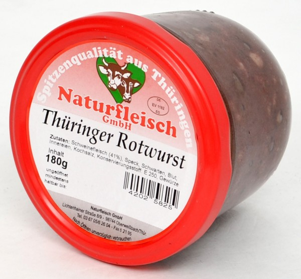 NOW Rotwurst 180g