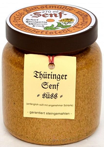 Kleinhettstedt Thür. Senf-Süss 270ml