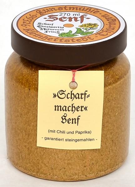 Kleinhettstedt Scharfmacher-Senf 270ml