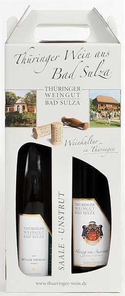 Bad Sulza Thüringer Weinkarton 2x0,75l