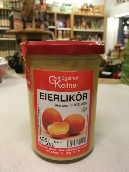 Geflügelhof Kellner Eierlikör zum Löffeln 0,35l